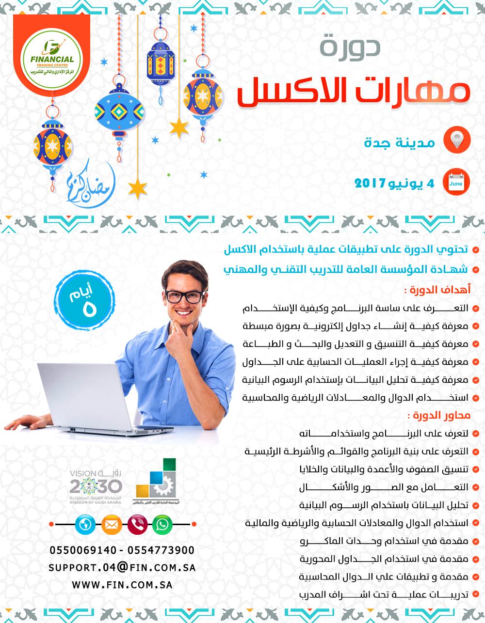اتقن مايكروسوف Excel وتعرف على وظائفه الأكثر شيوعا و المستخدمة في الشركات والمنظمات مع دورة مهارات الإكسل Ms Excel Financial Alai Pincode