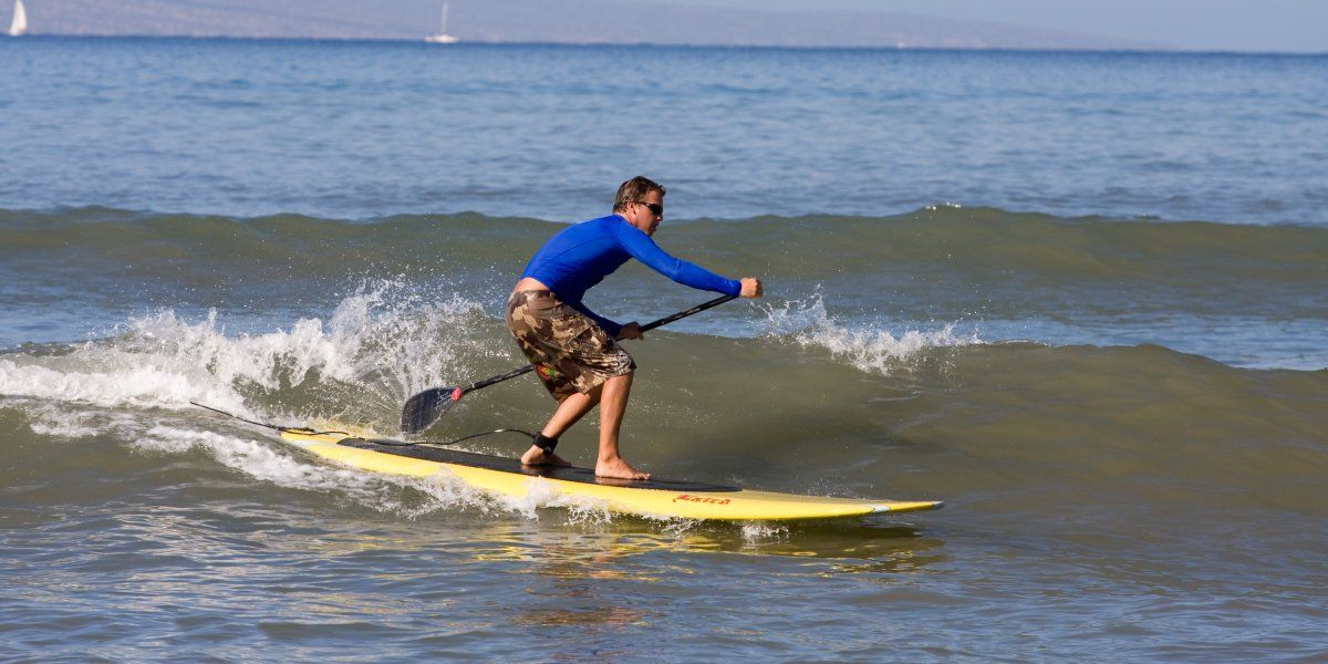 Learn to sup surf club maui standup paddleboarding