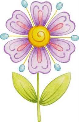 Flores coloreadas para imprimirImagenes y dibujos para imprimir