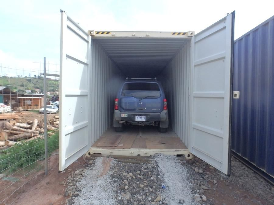 Modified Shipping Container Carport Two