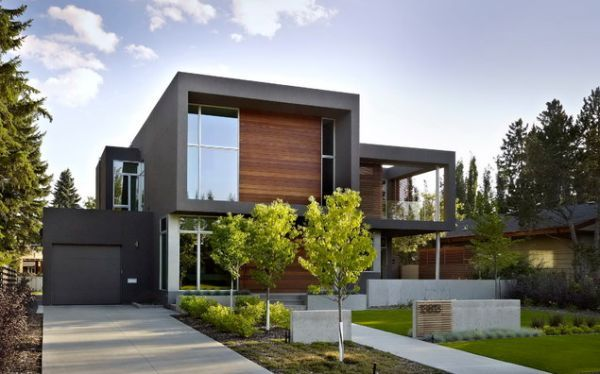 20 Modern And Contemporary Cube Shaped Houses Fassade Haus