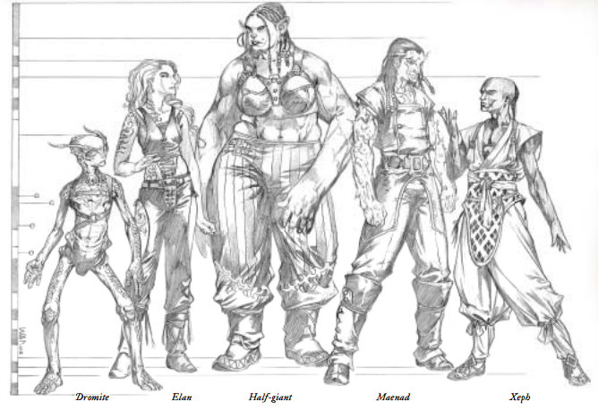 DND Race Heights Google Search Art Pinterest Dnd Races