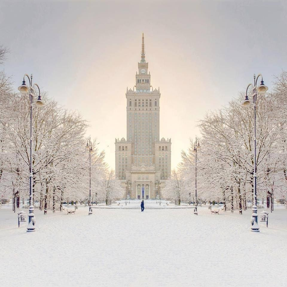Winter In Warsaw Poland With Images Poland Travel Visit