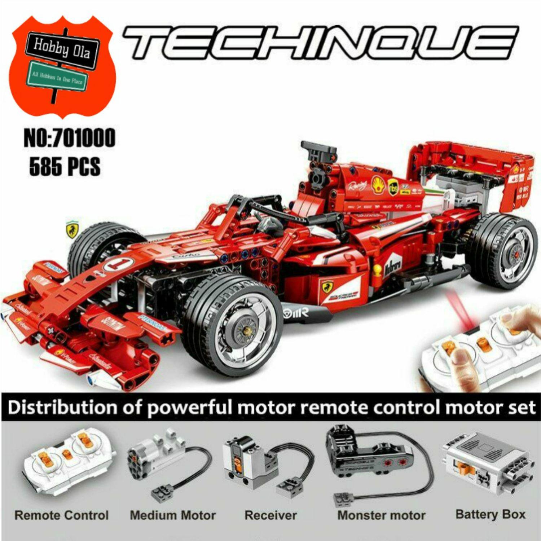 Monster Motor 701000 RC FerariF1 Racing Car Block Toys