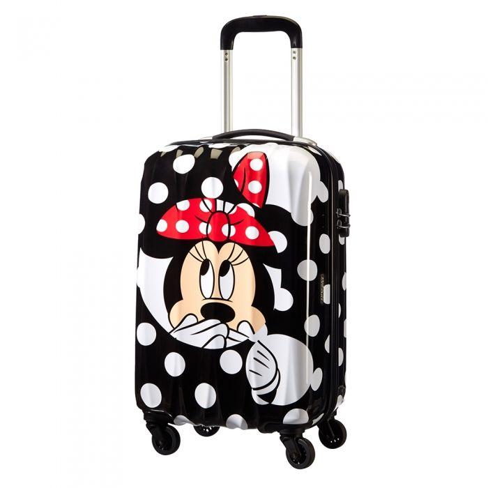 American Tourister Disney Legends Spinner 55 Alfatwist minnie dots