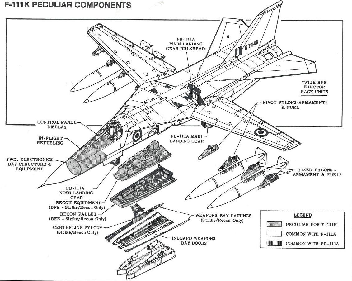 F-111K_cutaway_diagram | Avia. Schemes and profiles | Pinterest ...