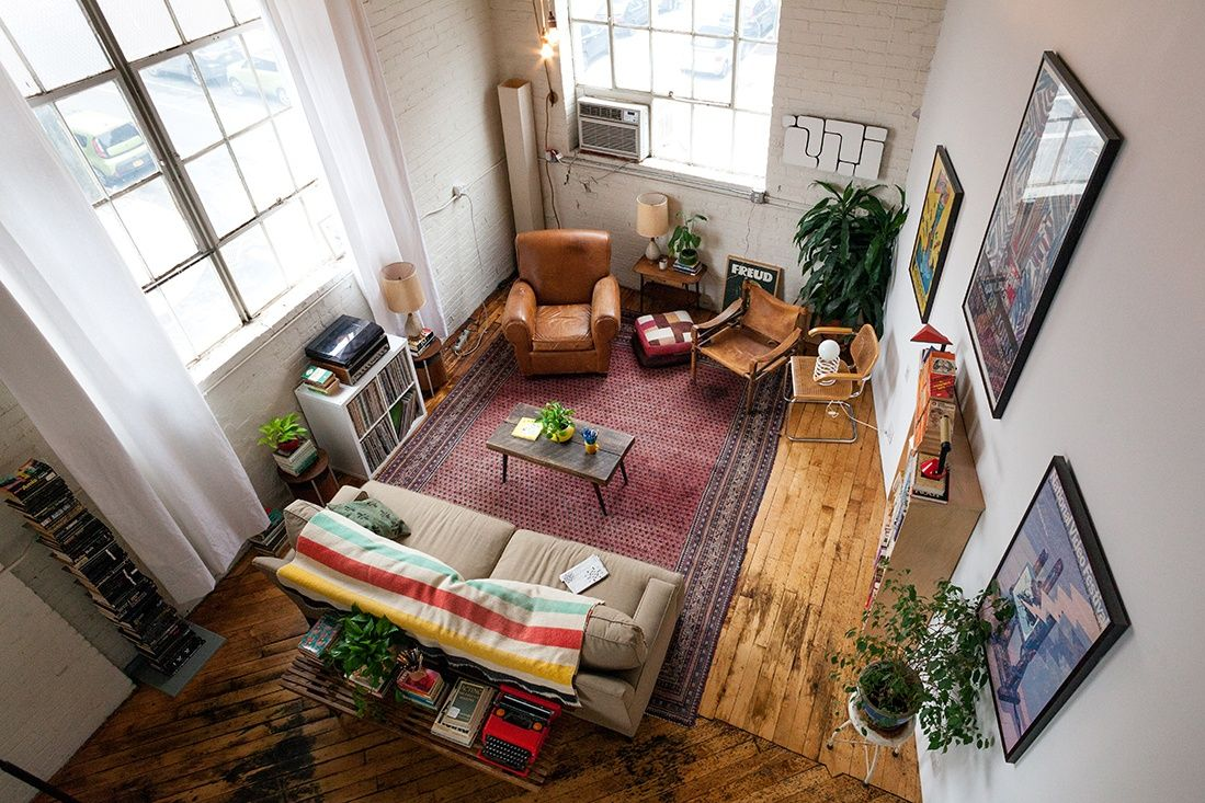 My 1400sqft Inside Creative Couple Molly Young And Teddy Blanks