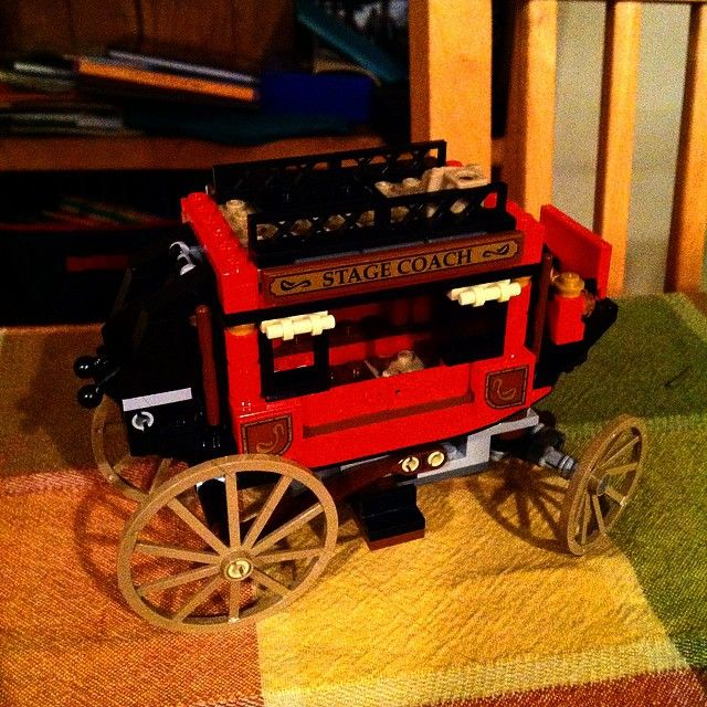 #lego #stagecoach #imisstoys