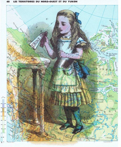 Art print.Alice in by studioflowerpower on Etsy, $8.50