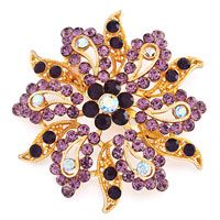 #Brooches #VintageBrooches #amethyst
