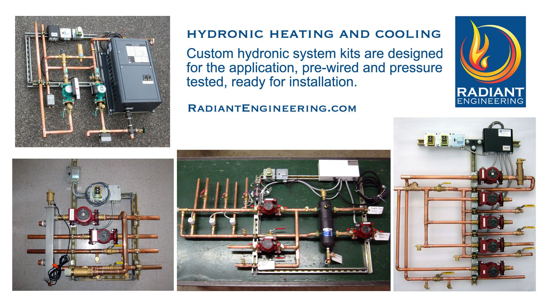 Cooling And Heating Your Home Hydronically Custom Hydronic