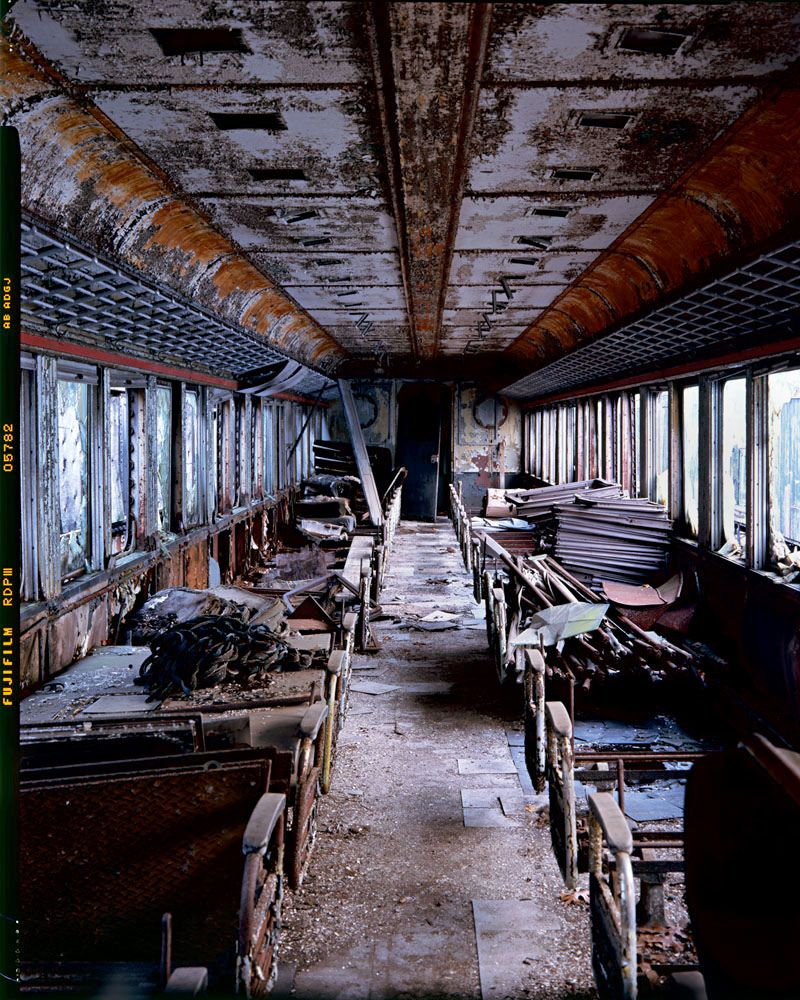 Cable Car, Connecticut, 2012 #abandoned #largeformat #film
