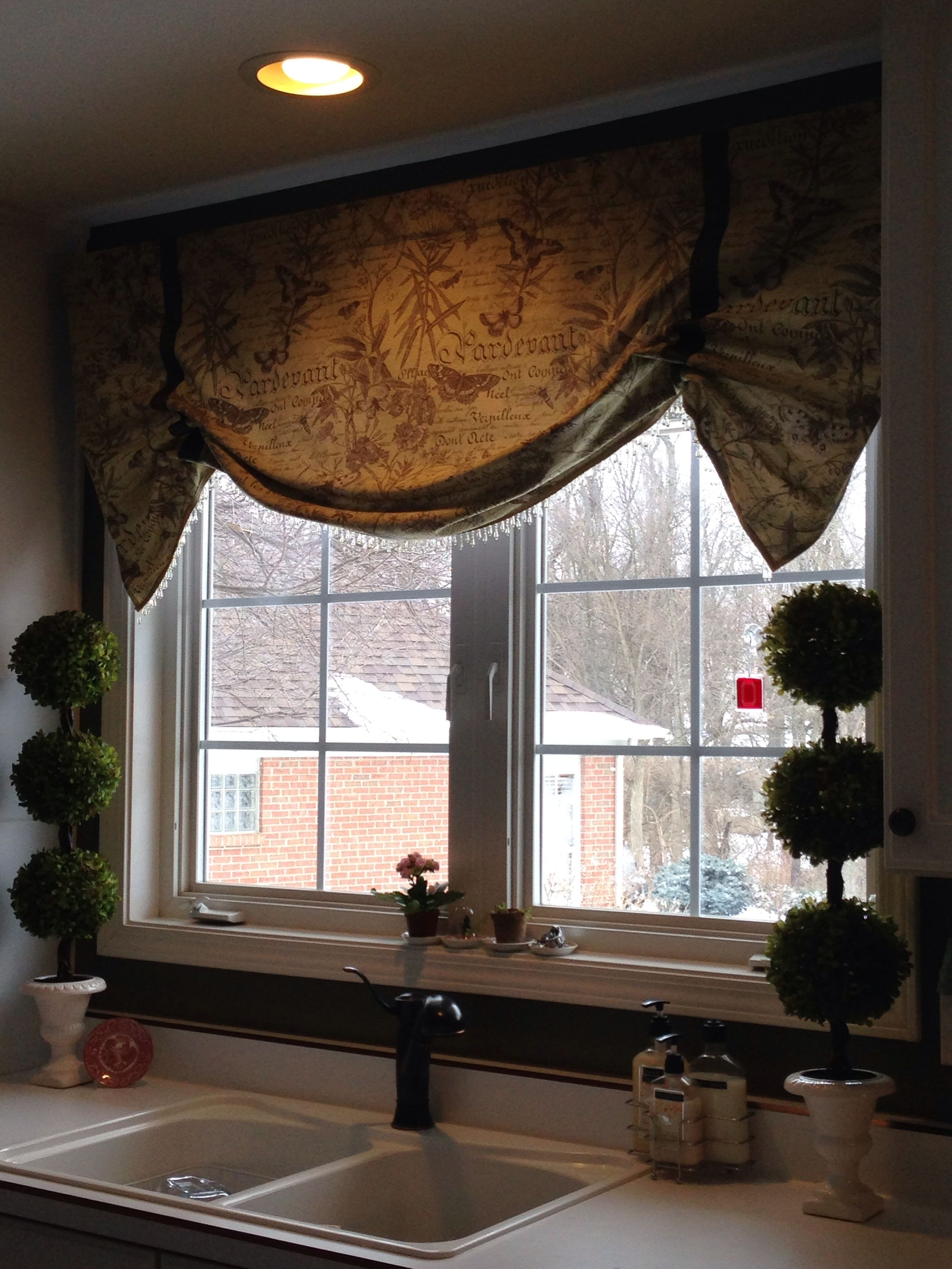is homemade pin curtain you hang curtains monogram home where cornice boards