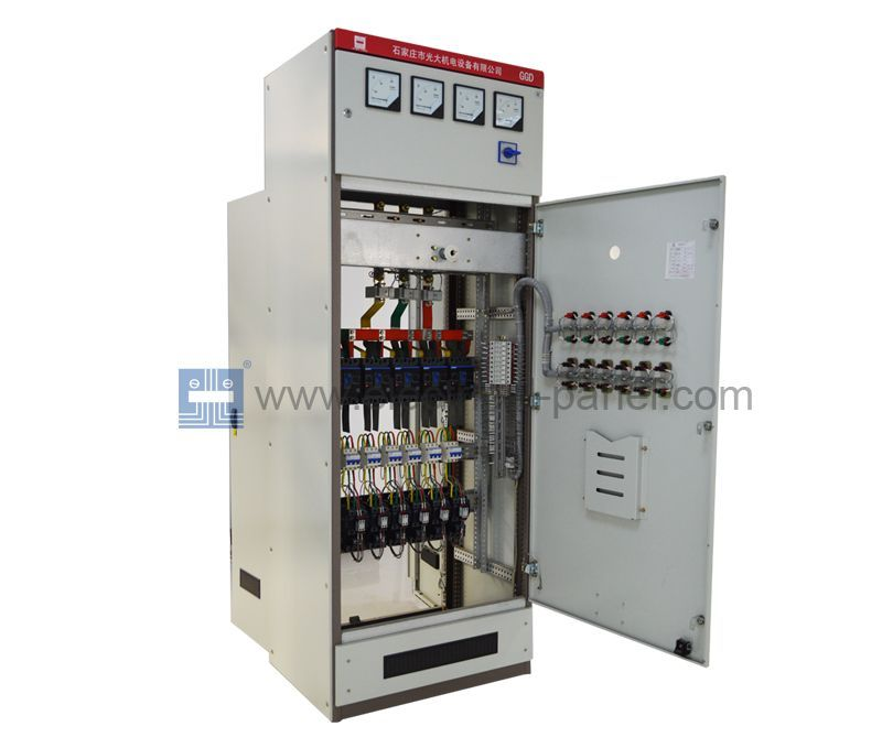 Ggdlowvoltageelectricpanel The Cabinet Type Electrical Scheme Is Flexible Convenient And Practi Electrical Panels Electrical Switches Stainless Steel Panels