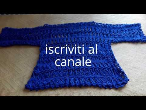 Uncinetto A Forcella I Punti Tutorial Youtube Forcella
