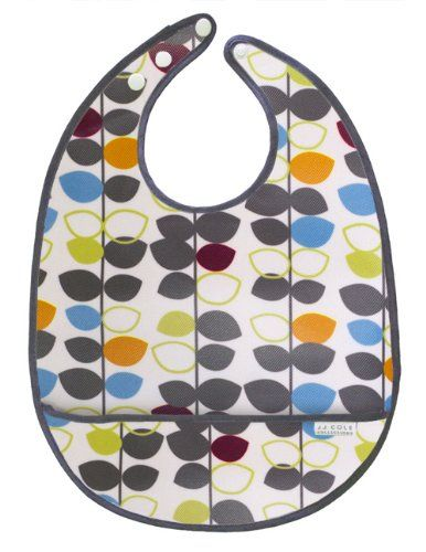 I think this is the same pattern as the diaper bag i registered for at buybuybaby!! JJ Cole Bib, Mixed Leaf $5.95