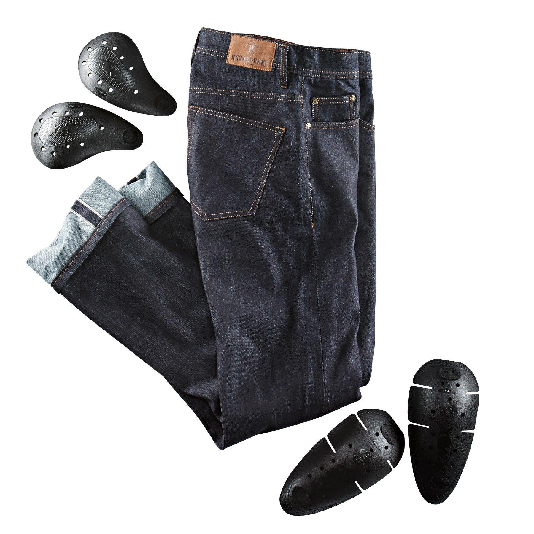 resurgence raw denim cafe racer jeans | resurgence gear