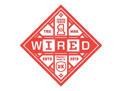 Wired Badge by Nick Slater