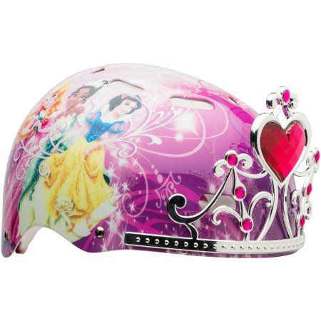 Bell Sports Disney Princess Child 3D Helmet, Pink, Multicolor