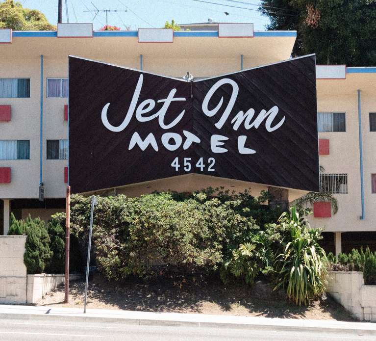 Jet Inn Motel, Inglewood, CA  (Close to the L A  Airport