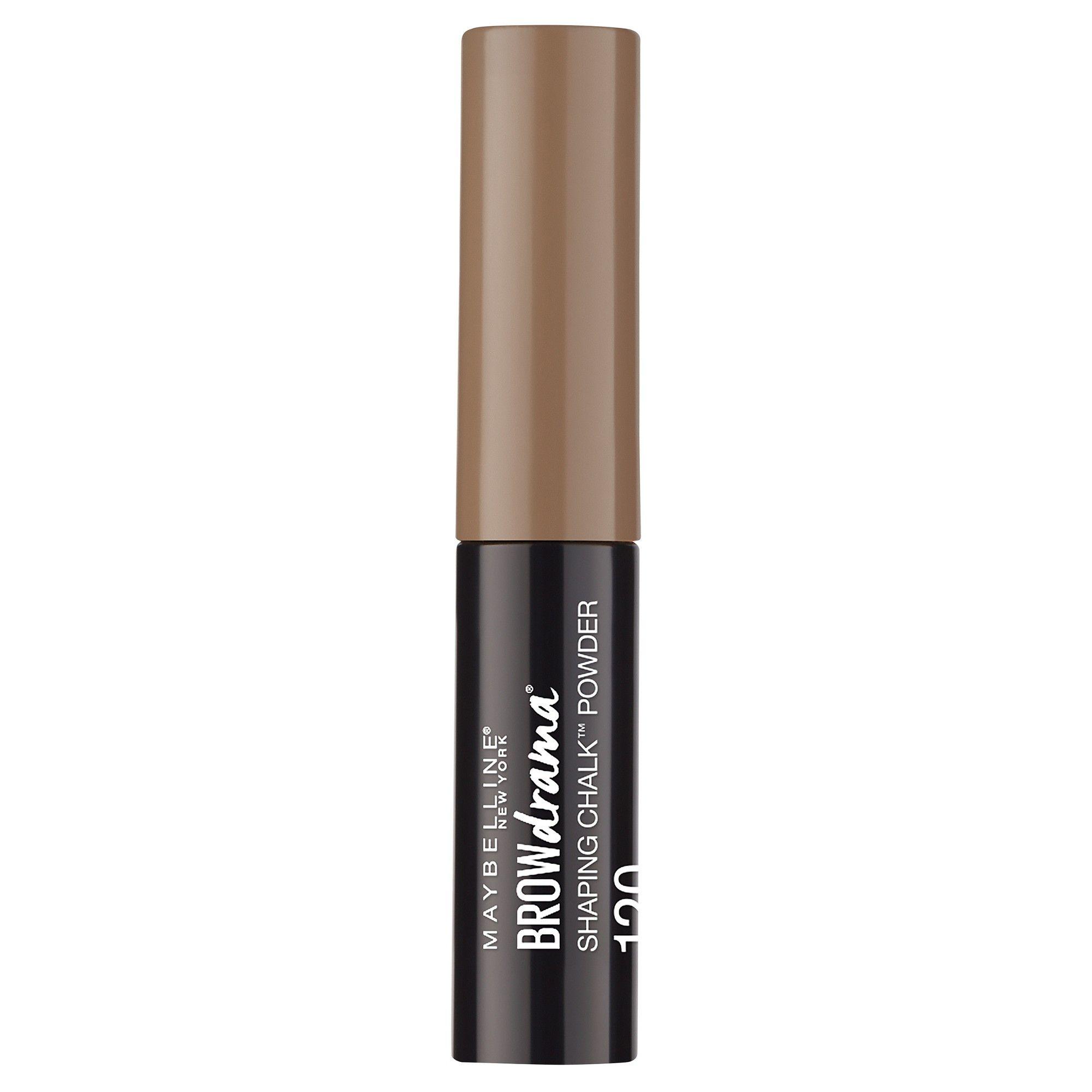 476cf458d4e Maybelline Eye Studio Brow Drama Shaping Chalk Powder Medium Brown - 0.035oz