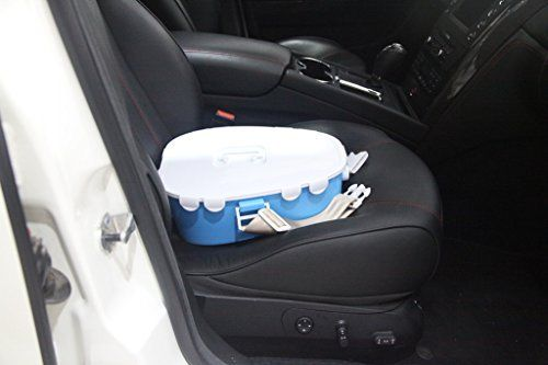 Crusar 2015 Car emergency miniature toilet Portable Removable travel Potties Color: Blue, Model:: Amazon.co.uk: Baby