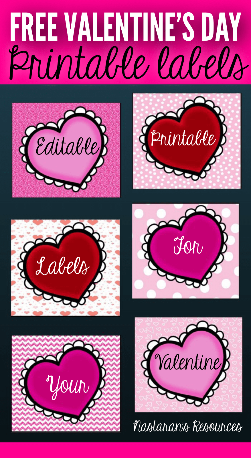 Valentine S Day Gift Tags Free Printable And Editable Free Gift Tags Free Printable Valentines Tags Valentine Gift Tags Printable