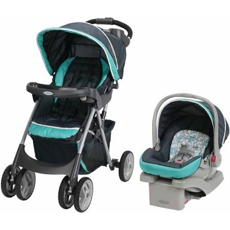 Graco Comfy Cruiser Click Connect Travel System Harvest | Cars ...