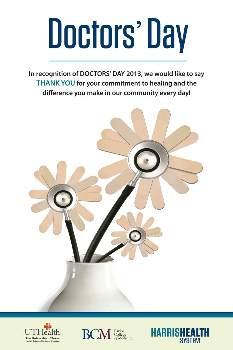 Doctors Day Ad We Created For Harris Health Advertising Created