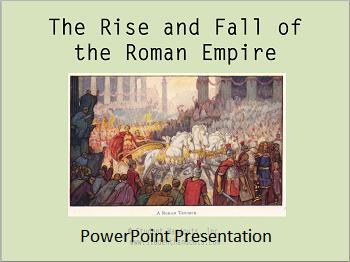 Rise And Fall Of The Roman Empire Powerpoint Presentation High School World History World History Classroom World History Teaching