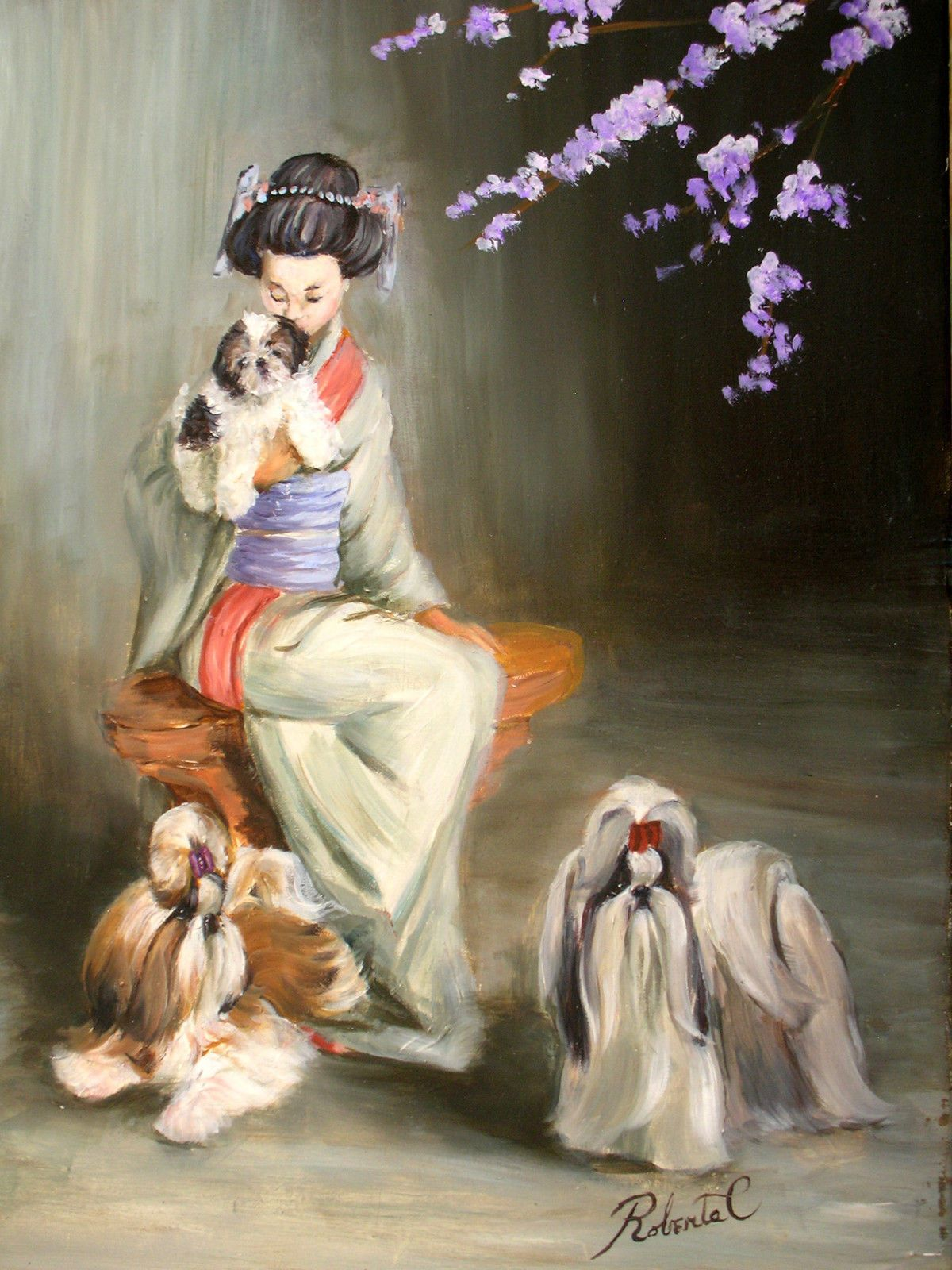 Pin By Sonnie B Mosley On Shih Tzu Shih Tzu Dog Art Shih Tzu Humor