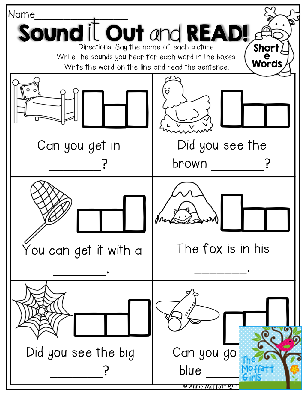 Sound It Out And Read Tons Of Great Printables
