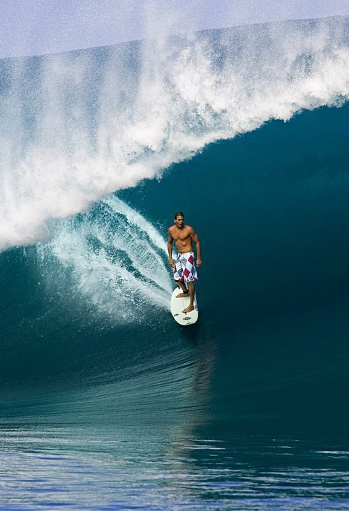 Andy Irons In Tahiti Surfing Pinterest Tahiti Surf And Surfers - Surfing inside 27 second long barrel wave