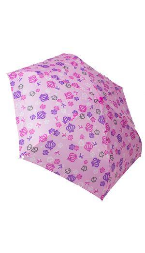 Crux - Princess Crown Umbrella Black Pink White | Cutesykink UK