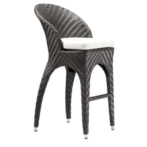 Zuo Modern Corona Bar Chair Espresso Bar Chairs Outdoor Bar Stools Chairs For Sale