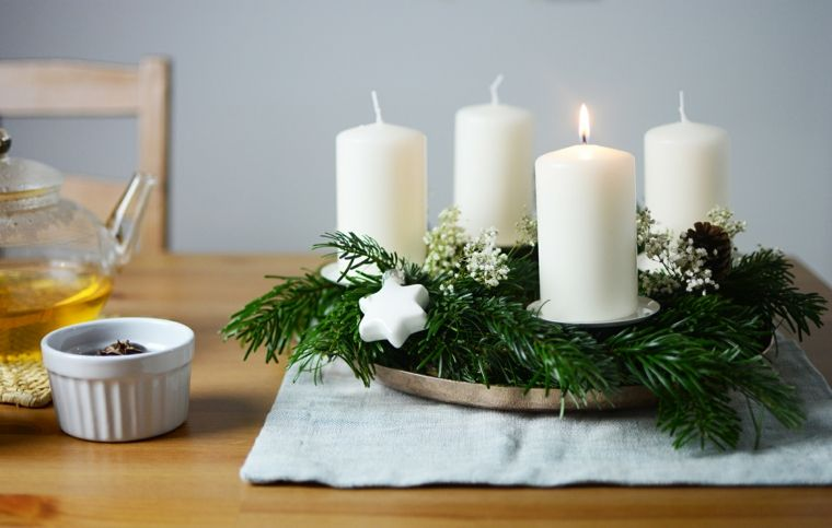 Lavoretti Di Natale Con Le Candele.Pin On Addobbi Natalizi
