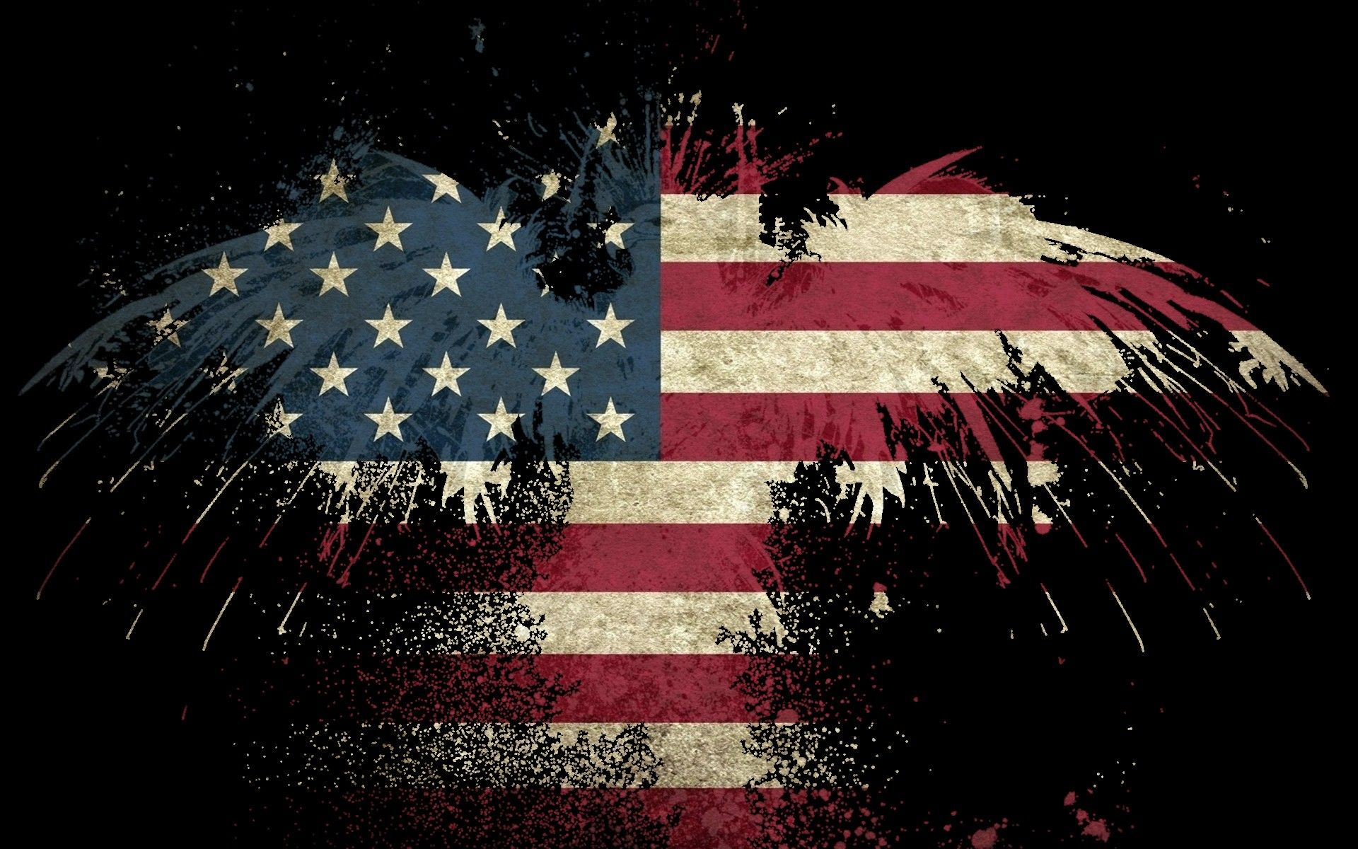 Awesome Usa Flag Hd Wallpaper 1080p Di 2020