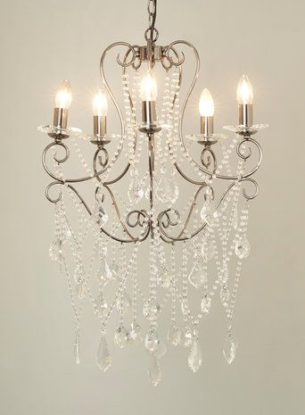 Bhs Illuminate Atelier Xanthe 5 Light Chandelier