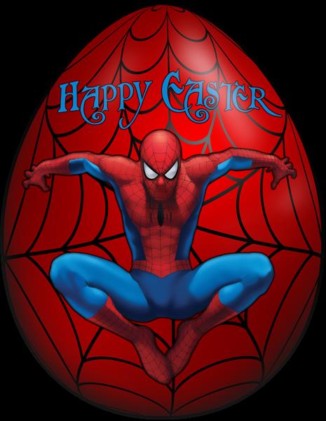 Kids Easter Egg Spiderman Png Clip Art Image Easter Eggs Kids Easter Kids Easter Pictures