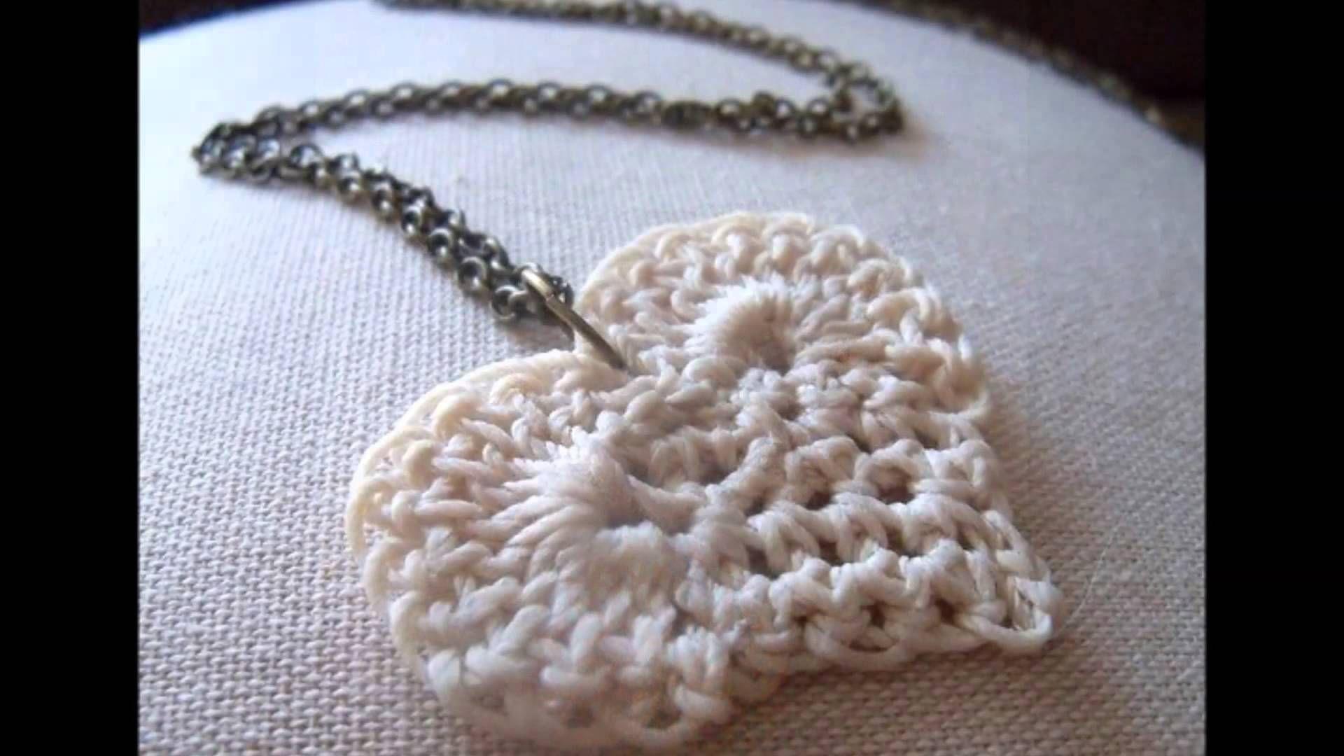 Modelos de collares tejidos a crochet | collares pulseras zarcillos ...