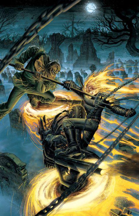 Ghost Rider: Heaven's On Fire #4 - Dustin Weaver