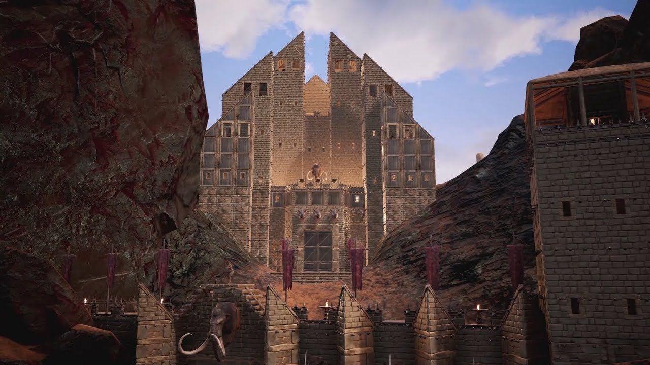 Conan Exiles Five Massive Castles Youtube Conan Exiles
