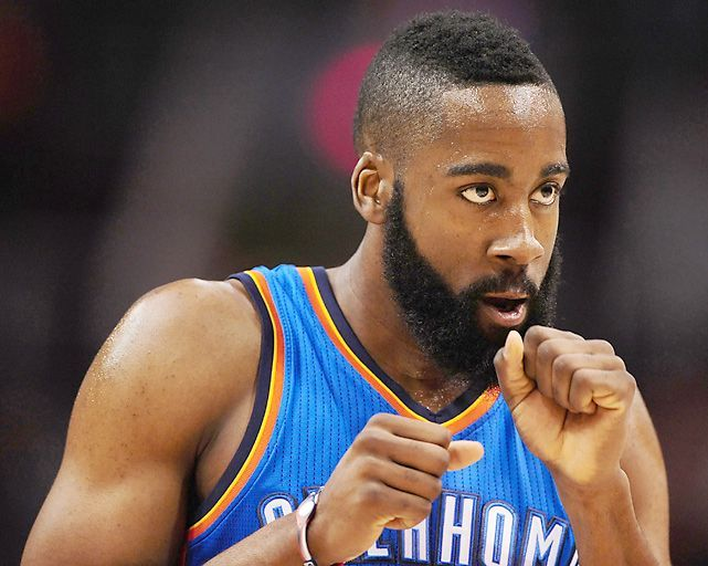 James Harden And His Beard Photo By Chris Landsberger The Oklahoman