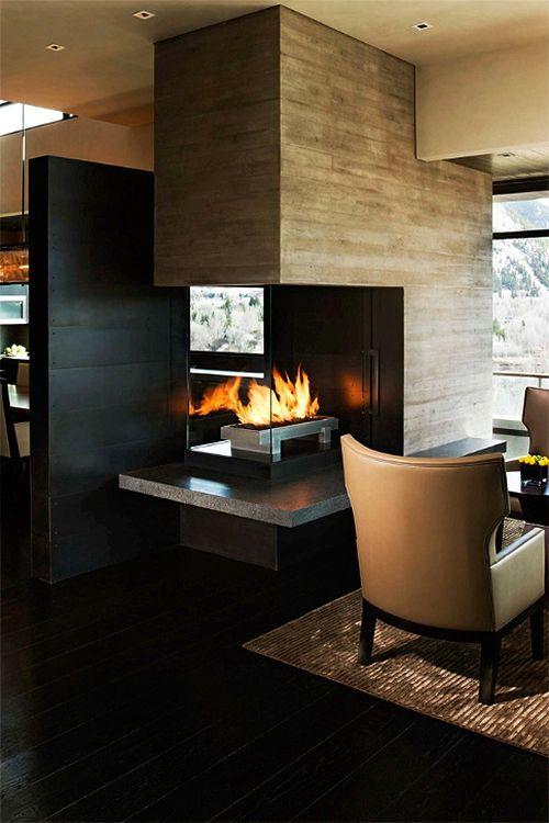 Fireplace Styles: 100+ Design Ideas   Dressing area, Fireplace ...
