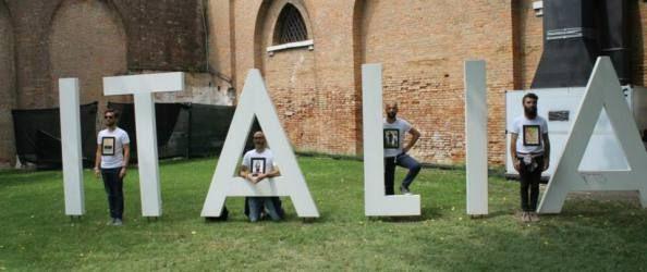 Incursione Fu'Turista Biennale Arte Venezia