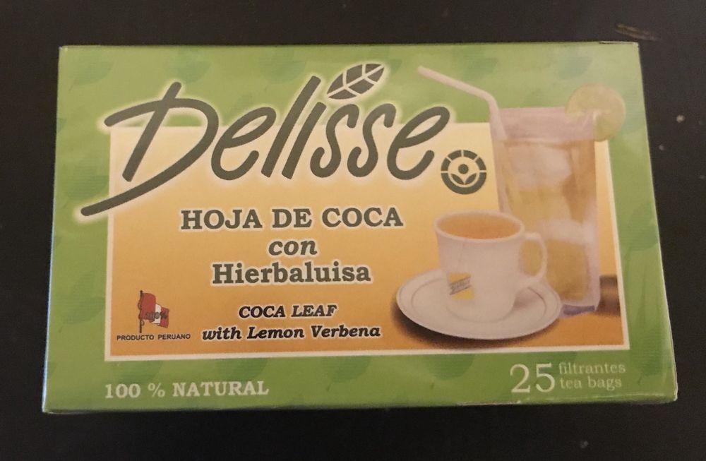 DELISSE Lemon Verbena/Hierbaluisa with koka Leaf -25 Tea Bags -100