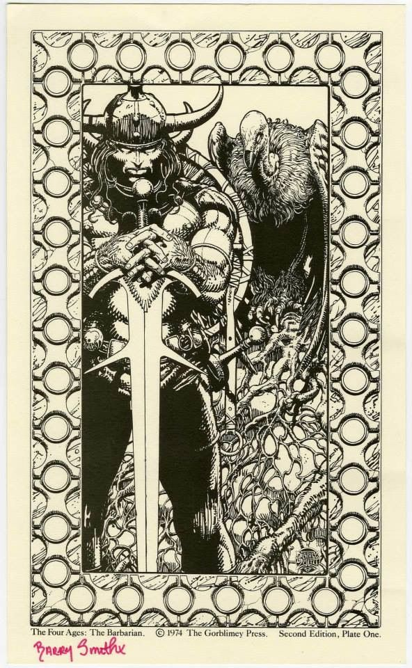Art by Barry Windsor Smith