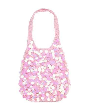Pink Sparkly Sequin Purse | Jade Karyn |