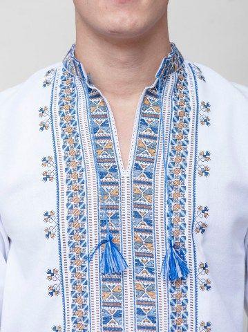 Чоловічі вишиванки – купити чоловічу вишиванку ручної роботи в Києві на  ETNODIM.COM.UA 7c7e2576b2d39