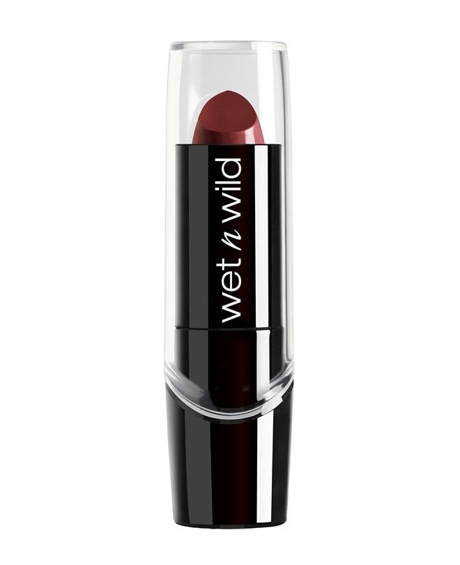 Wet n Wild Slik Finish Lipstick  Dark Wine